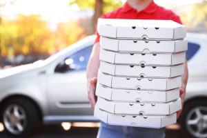 Insurance options for food delivery service in Tumwater, WA